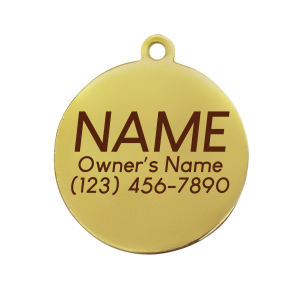 Pet ID Tag – Have Your People – Navy