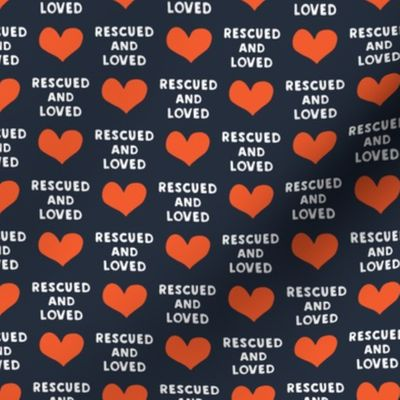 rescued and loved fabric swatch